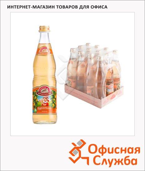 фото: Напиток газированный Черноголовка Буратино стекло, 500мл х 12шт