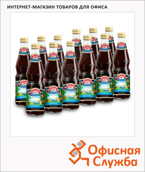 фото: Напиток газированный Черноголовка байкал стекло, 500мл х 12шт