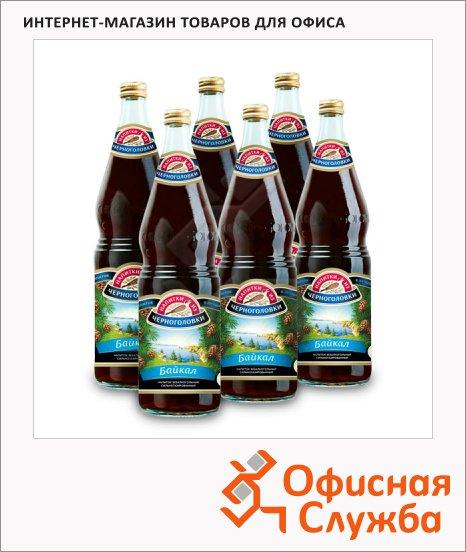 Напиток газированный Черноголовка байкал 1л х 6шт, стекло