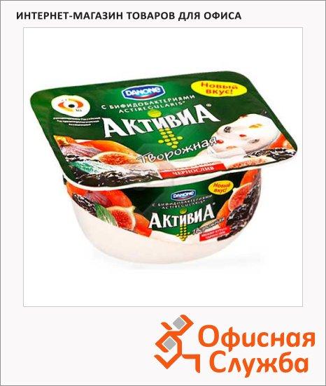 Йогурт Активиа творожная чернослив-курага-инжир, 4.5%, 130г