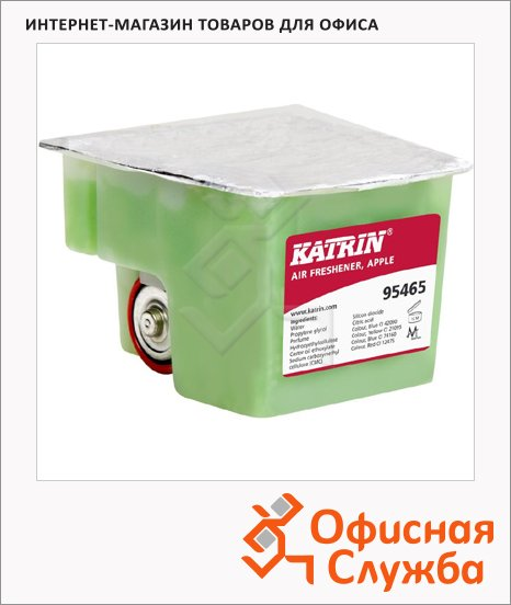 Запасной картридж для освежителя воздуха Katrin Ease Air Freshener с яблочным ароматом, 95462