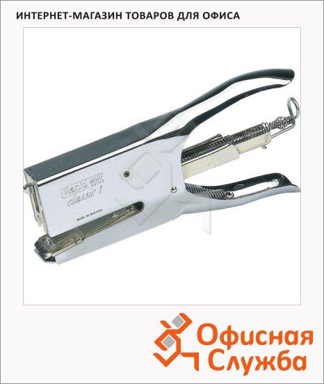 Степлер-плаер Rapid Classik K1 №24/6, 24/8, до 50 листов, хром