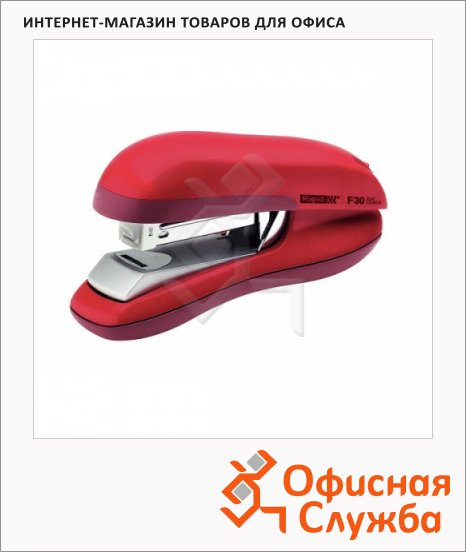 Степлер Rapid Halfstrip F16 №24/6, 26/6, до 20 листов, красный