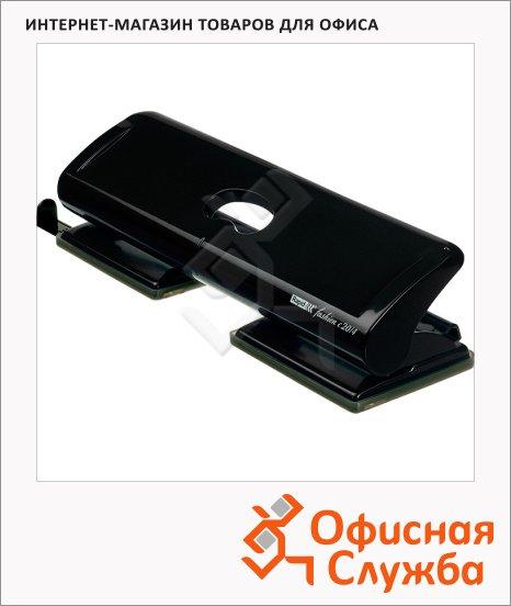 Дырокол Rapid Hole Punch New до 20 листов, черный, FC20/4 20922801