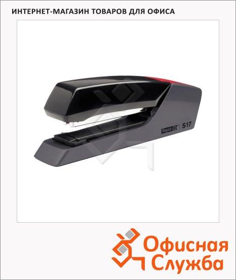 Степлер Rapid Supreme Fullstrip S17 №24/6, 26/6, до 30 листов, черный, полнозагрузочный, S17