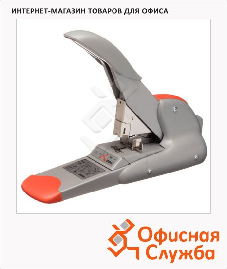 фото: Степлер Rapid Supreme Duax Heavy Duty до 170 листов серебристо-оранжевый