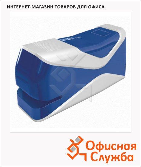 фото: Степлер электрический Fixativ 10BX №24/6 26/6, до 10 листов, синий