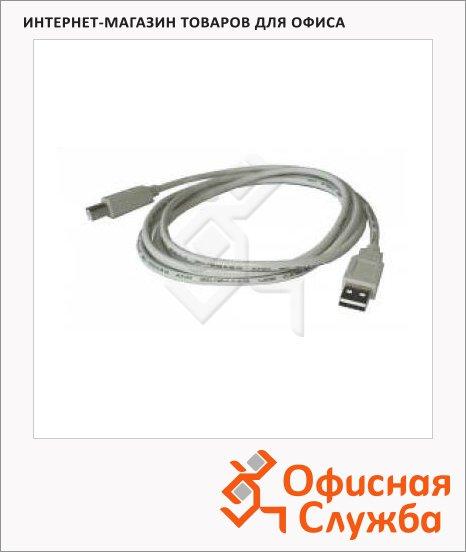 Кабель USB 2.0 Buro A-A (m-f) 1.8м, белый