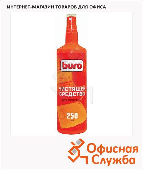 Спрей для чистки пластика Buro BU-Ssurface 250 мл, 817434