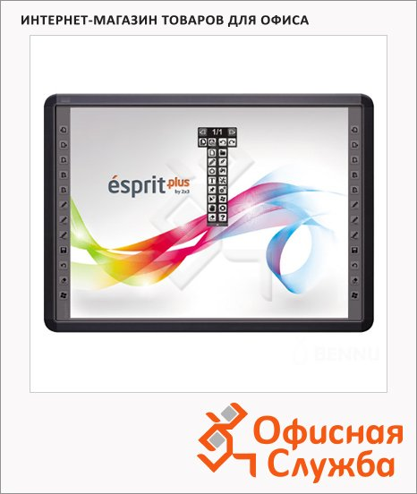 фото: Интерактивная доска 2X3 Esprit Plus Tiwer 129х177см 4:3, 82 дюйма