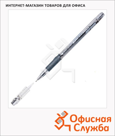 Ручка гелевая Erich Krause Chloe черная, 0.5мм