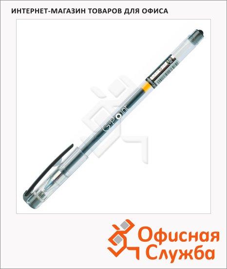 Ручка гелевая Erich Krause G-Point черная, 0.38мм