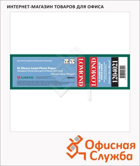 фото: Бумага широкоформатная Lomond 610мм х 30м 200г/м2, глянцевая, 1204021