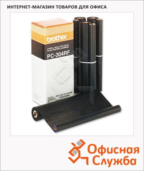 фото: Термопленка для факса Brother PC-304RF 960стр, 4шт/уп