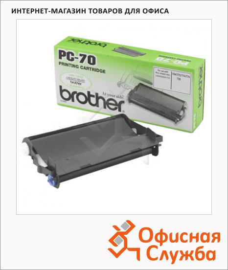 фото: Термопленка для факса Brother PC-401RF 144стр