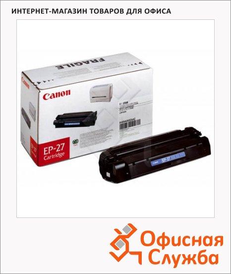 фото: Тонер-картридж Canon EP-27 черный, (8489A002)