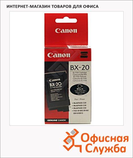 Картридж струйный Canon BX-20, черный