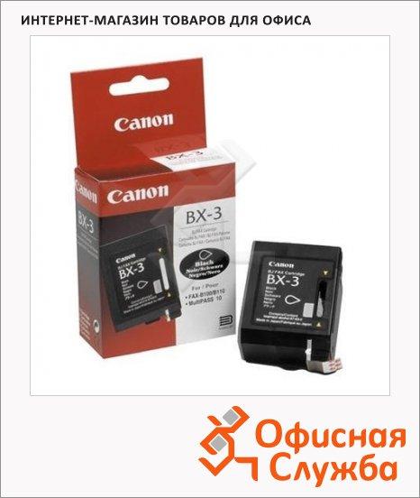 Картридж струйный Canon BX-3, черный