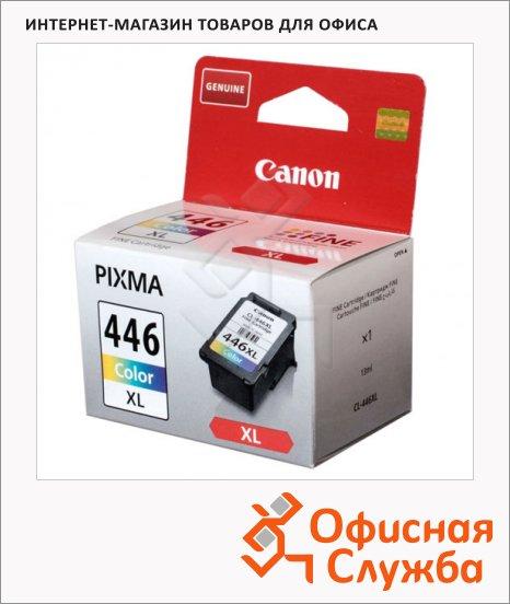 Картридж струйный Canon CL-446XL, цветной повышенной емкости