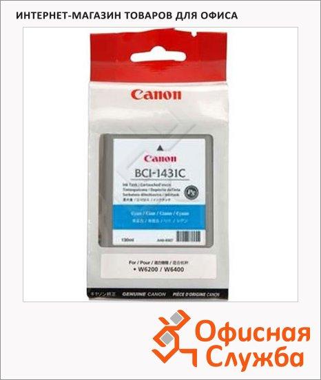 Картридж струйный Canon BCI-1431C, голубой