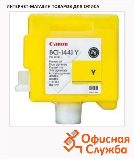 фото: Картридж струйный Canon BCI-1441Y желтый