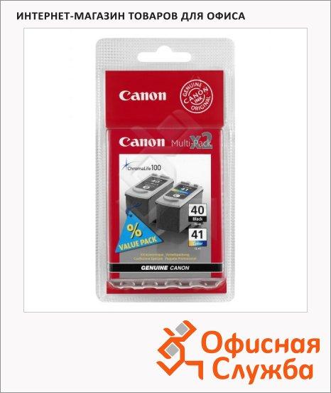 Картридж струйный Canon PG-40 CL-41, 4 цвета