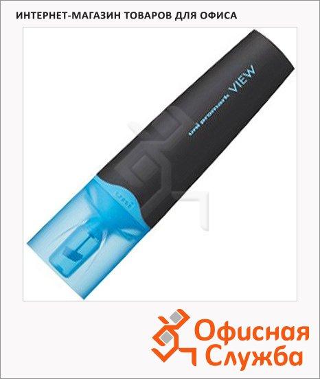 фото: Текстовыделитель Uni View Ups-200 голубой 1-5мм, скошенный наконечник, 67293