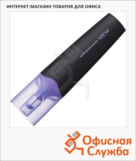 фото: Текстовыделитель Uni View Ups-200 фиолетовый 1-5мм, скошенный наконечник, 67296