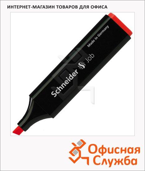 Текстовыделитель Schneider Job красный, 1-5мм, скошенный наконечник