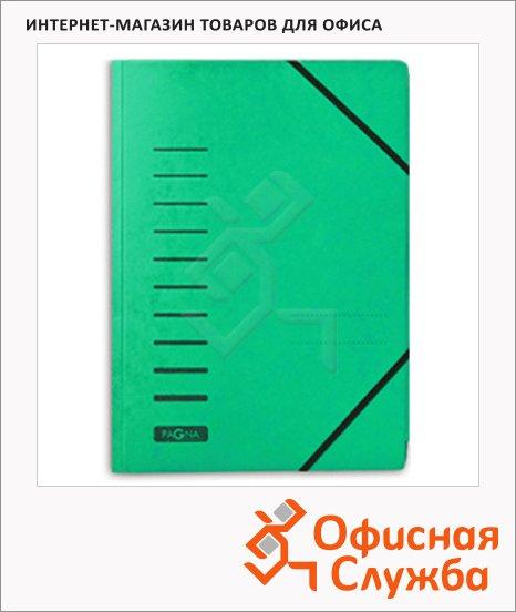 фото: Картонная папка на резинке Visifix желтая А4, до 200 листов, 24007-03