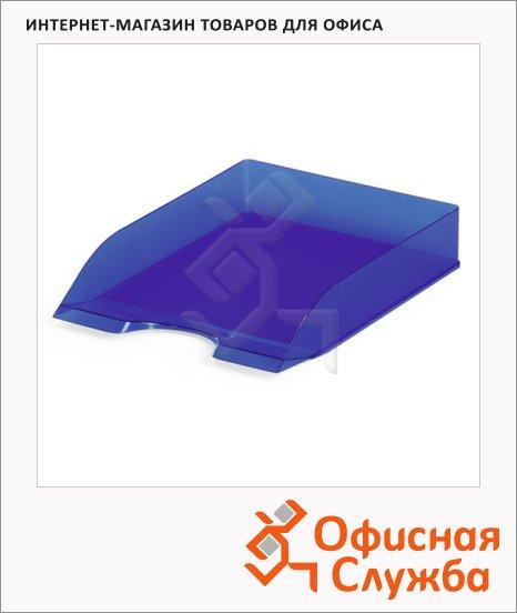 фото: Лоток горизонтальный для бумаг Durable Basic Tray А4 голубой, 1701673540