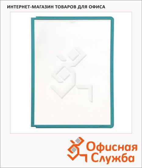 фото: Панель для демосистем Durable А4 зеленый, 5606-05