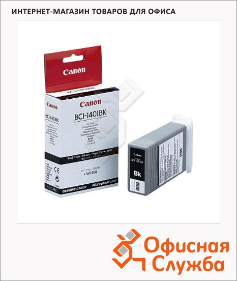 фото: Картридж струйный Canon BCI-1401Bk черный