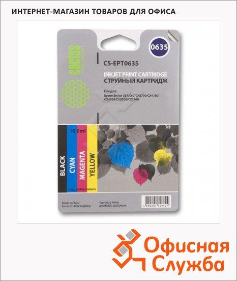 Картридж струйный Epson CS-EPT0635, 4 цвета