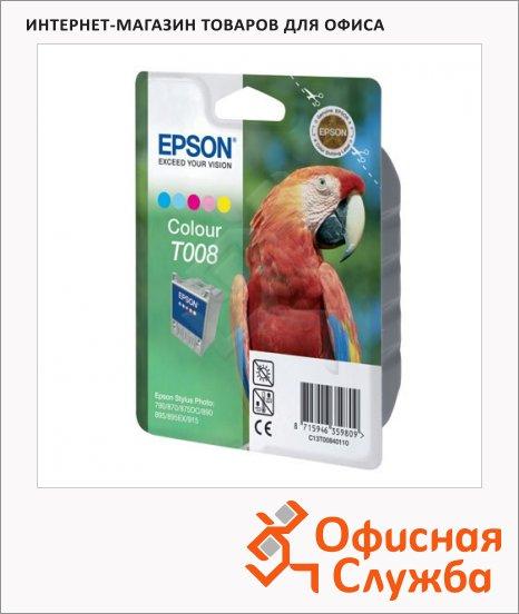 фото: Картридж струйный Epson C13 T00840110 5 цветов