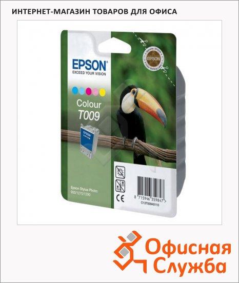фото: Картридж струйный Epson C13 T00940110 5 цветов