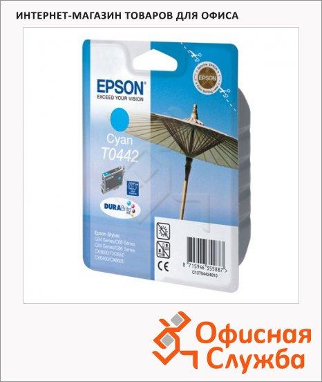 фото: Картридж струйный Epson C13 T044240 голубой