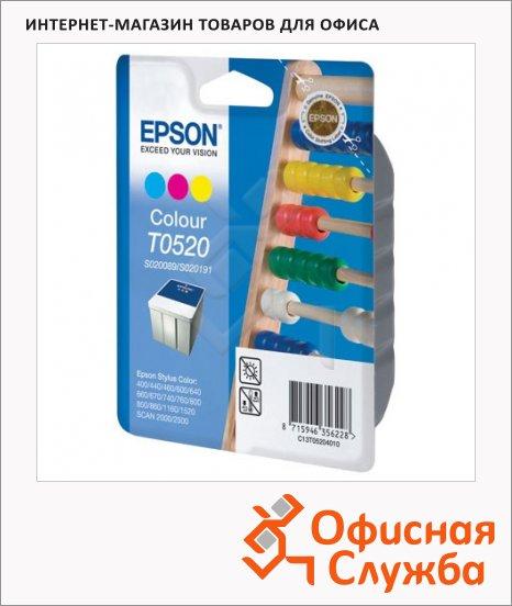 фото: Картридж струйный Epson C13 T05204010 3 цвета