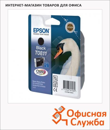 фото: Картридж струйный Epson C13 T11114 A10 черный