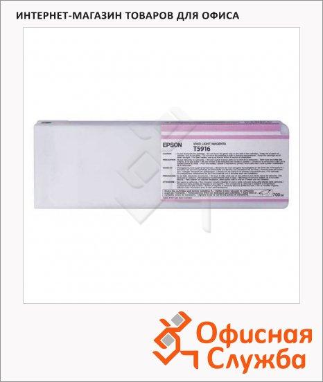 Картридж струйный Epson C13 T591600, светло-пурпурный