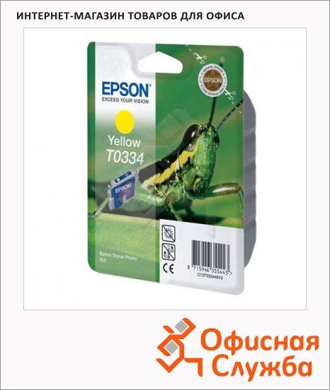 фото: Картридж струйный Epson C13 T033440 желтый