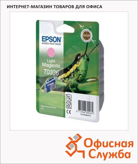 Картридж струйный Epson C13 T033640, светло-пурпурный