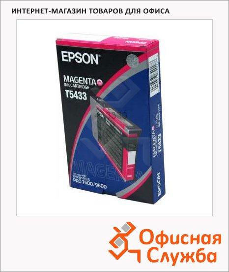 Картридж струйный Epson C13 T543300, красный