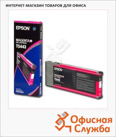 Картридж струйный Epson C13 T544300, красный