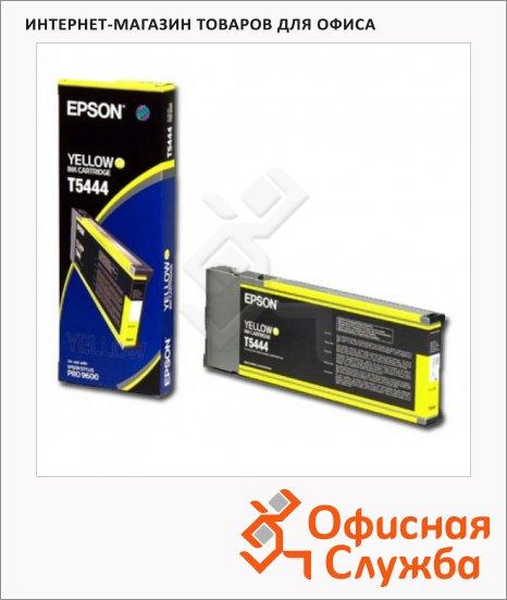 фото: Картридж струйный Epson C13 T544400 желтый