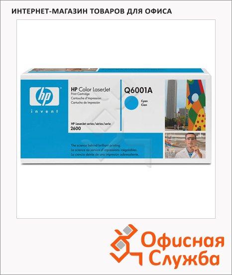 Тонер-картридж Hp Q6001A(С), голубой