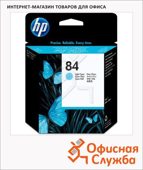 Картридж струйный Hp 84 C5020A, светло-голубой, 470мл