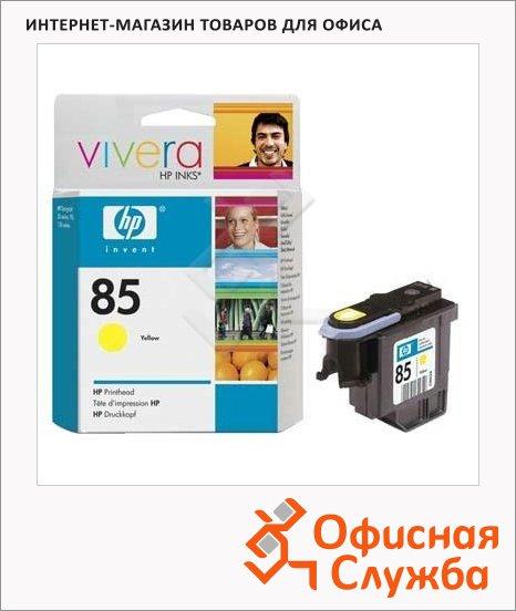 Печатающая головка Hp 85 C9422A, желтая