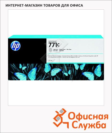 Картридж струйный Hp 771 B6Y14A, светло-серый