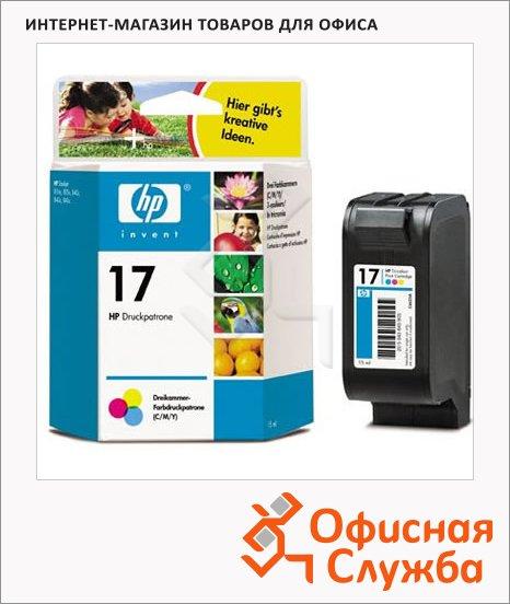 Картридж струйный Hp 17 C6625A, 3 цвета